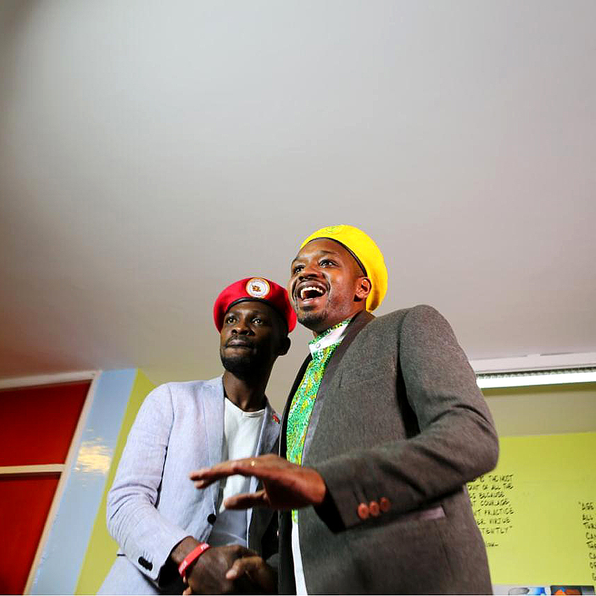 King Boniface Mwangi in King Sidney