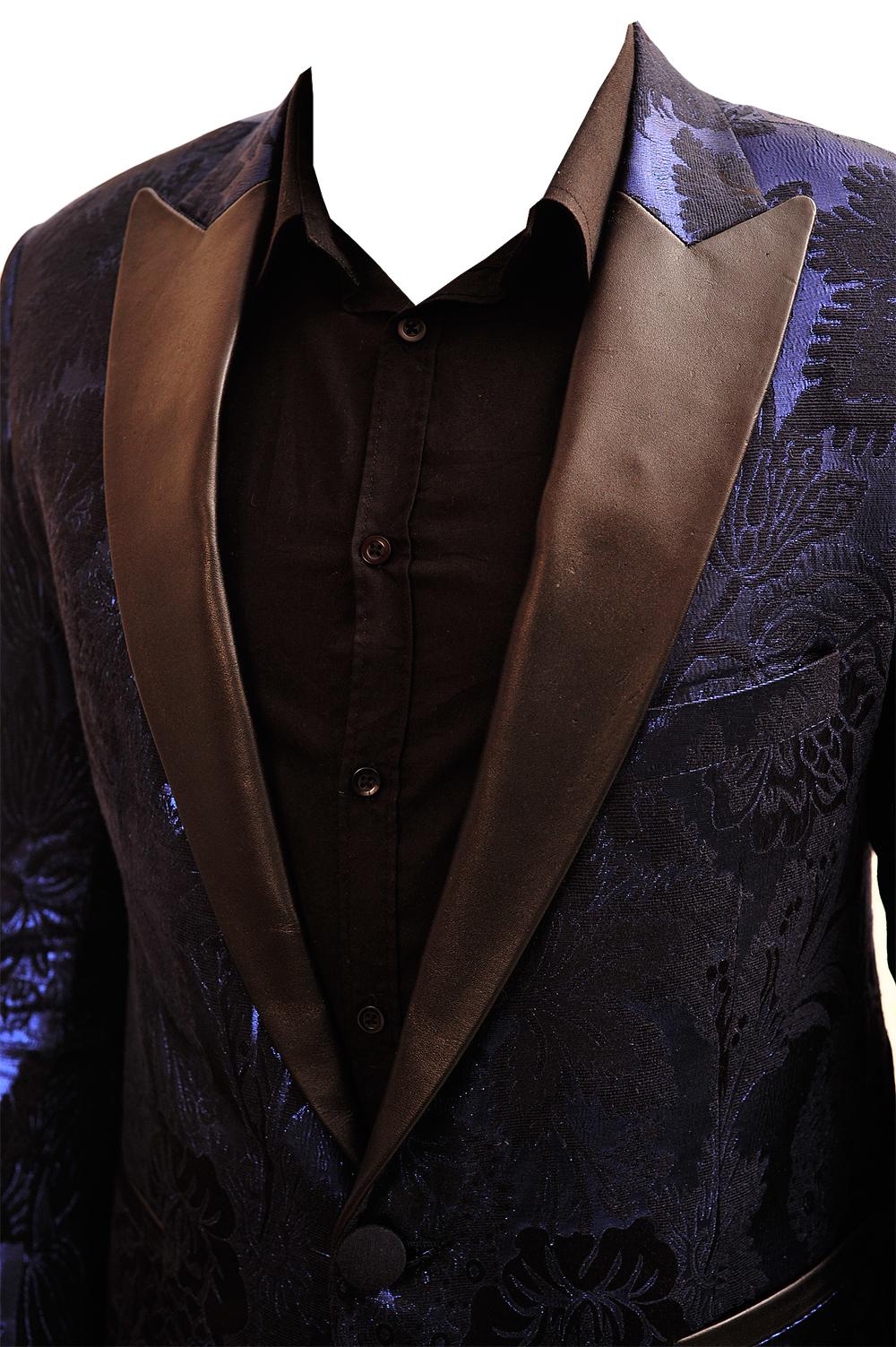 leather lapel designer tuxedo Kenya