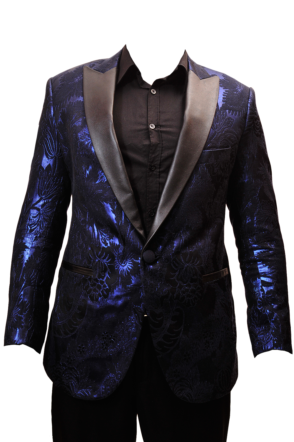 Perfect midnight blue floral tuxedo jacket Nairobi Kenya