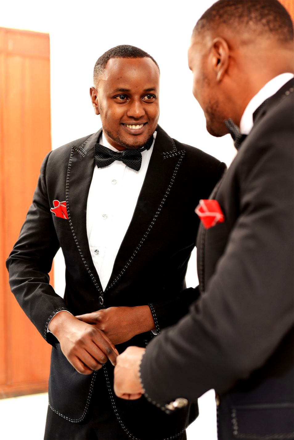 Black suits for award ceremony in Nairobi Kenya gala dinner suit