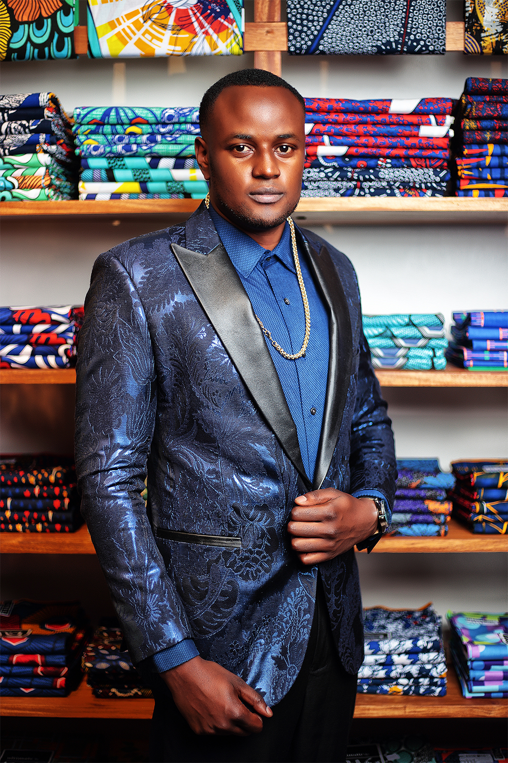 Dinner jacket looks for men in Nairobi Kenya midnight blue