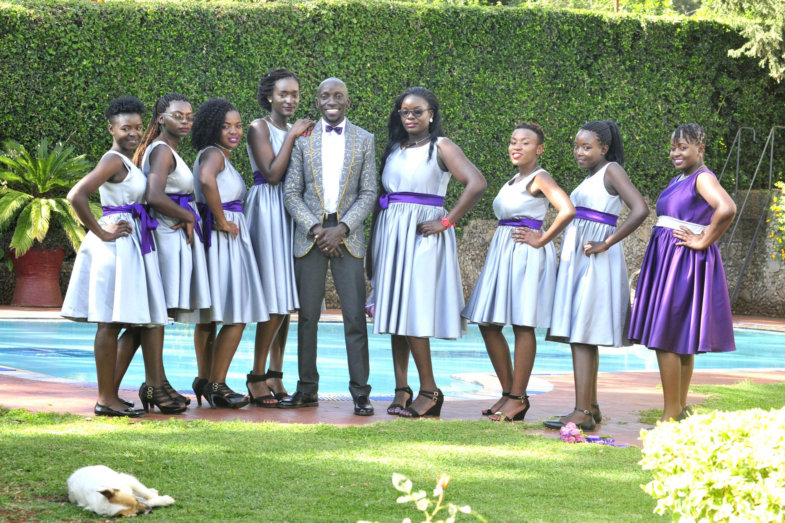 Unique designer wedding blazer for the groom in Nairobi Kenya