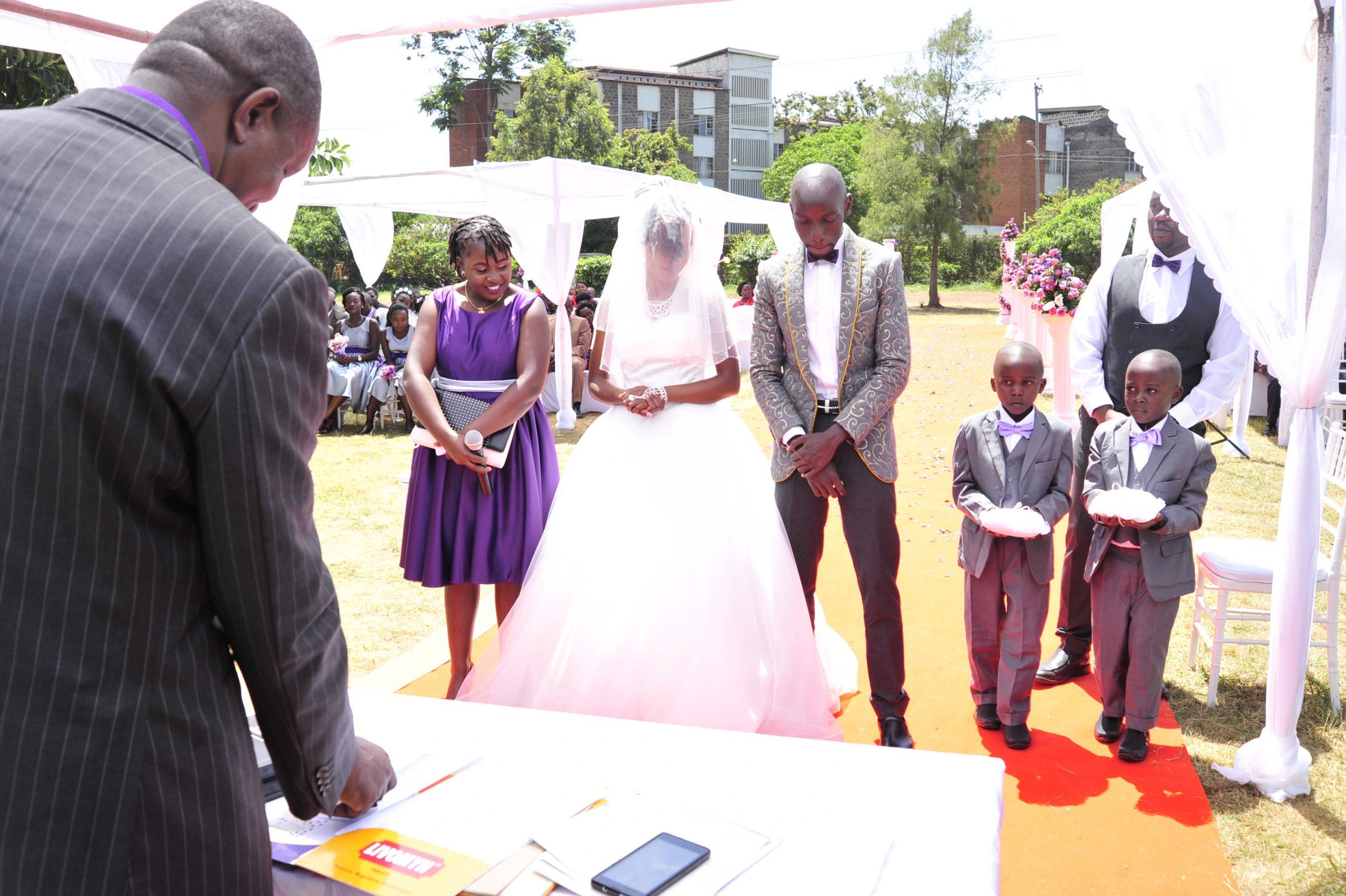 Really nice wedding blazer for the groom in Nairobi Kenya