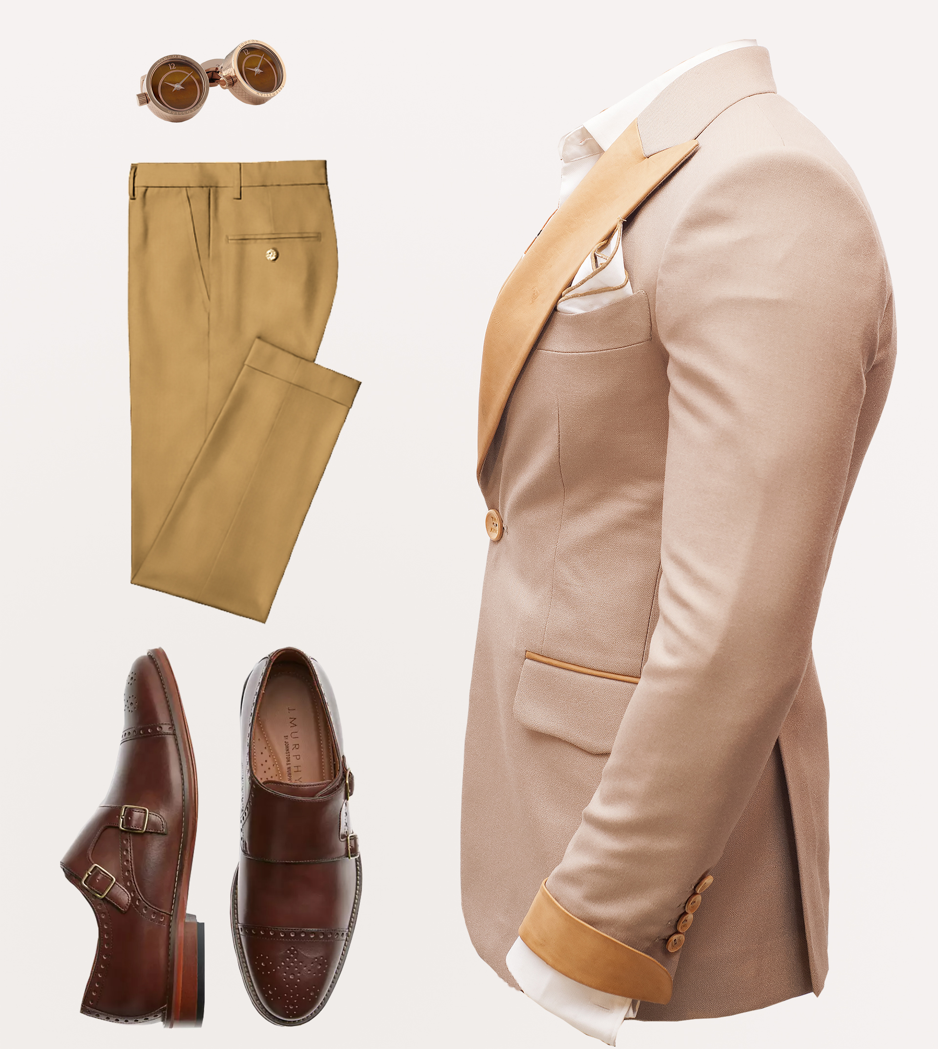 Brown outfits for men in Nairobi Kenya