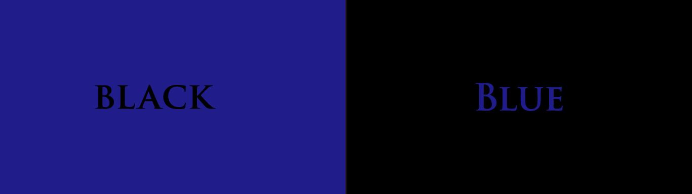 blue and black kenya