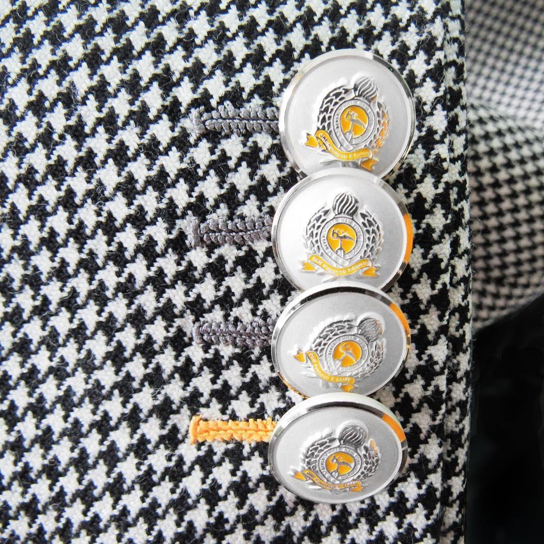 house of bijan enamel buttons