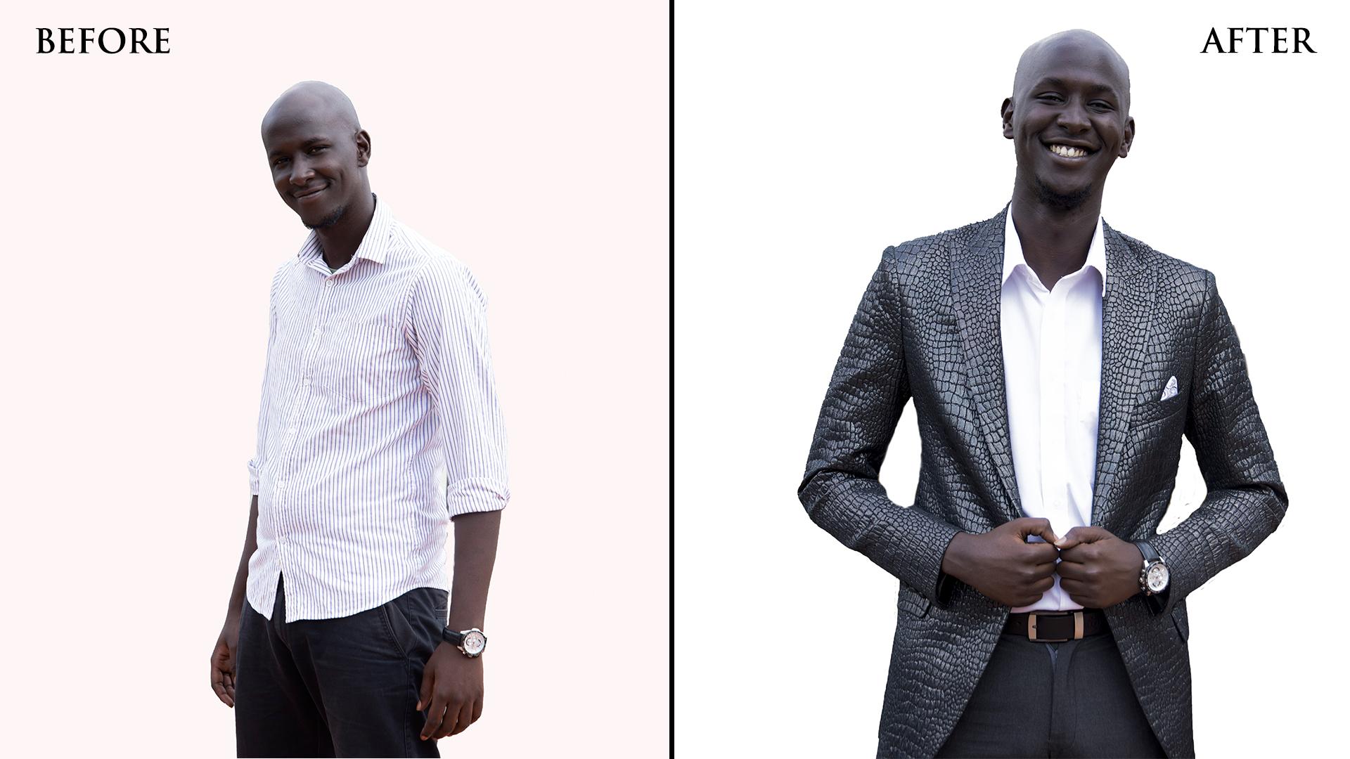 Bespoke blazer for men in Nairobi Kenya for an important function