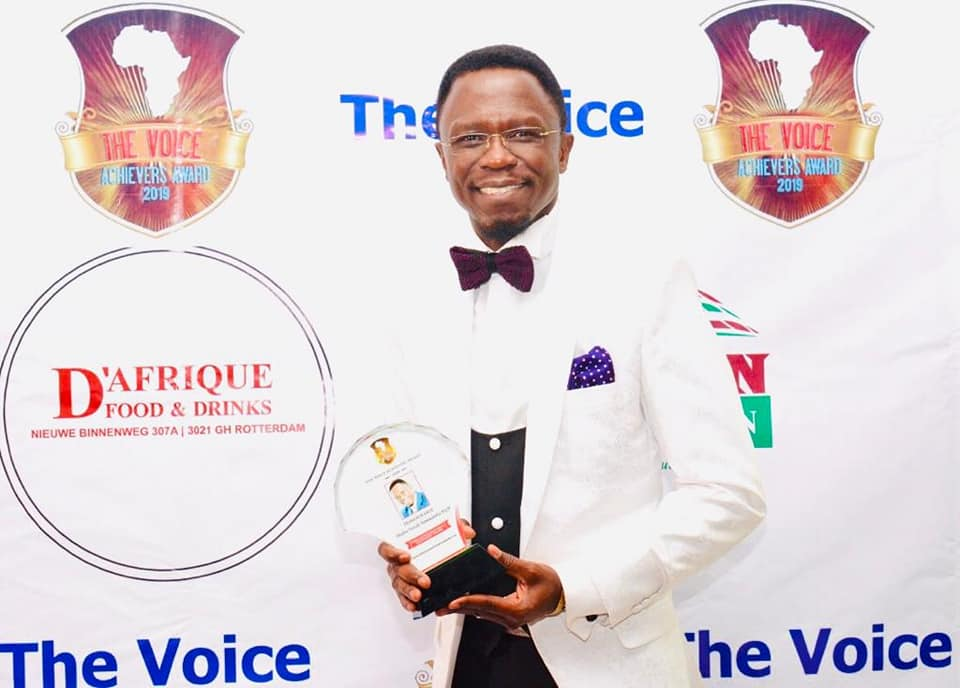 Ababu Namwamba award ceremony