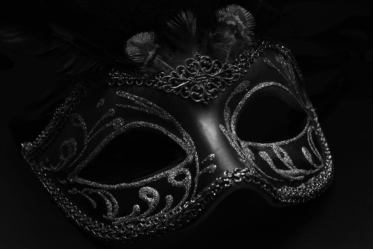 Masquerade party mask Nairobi black