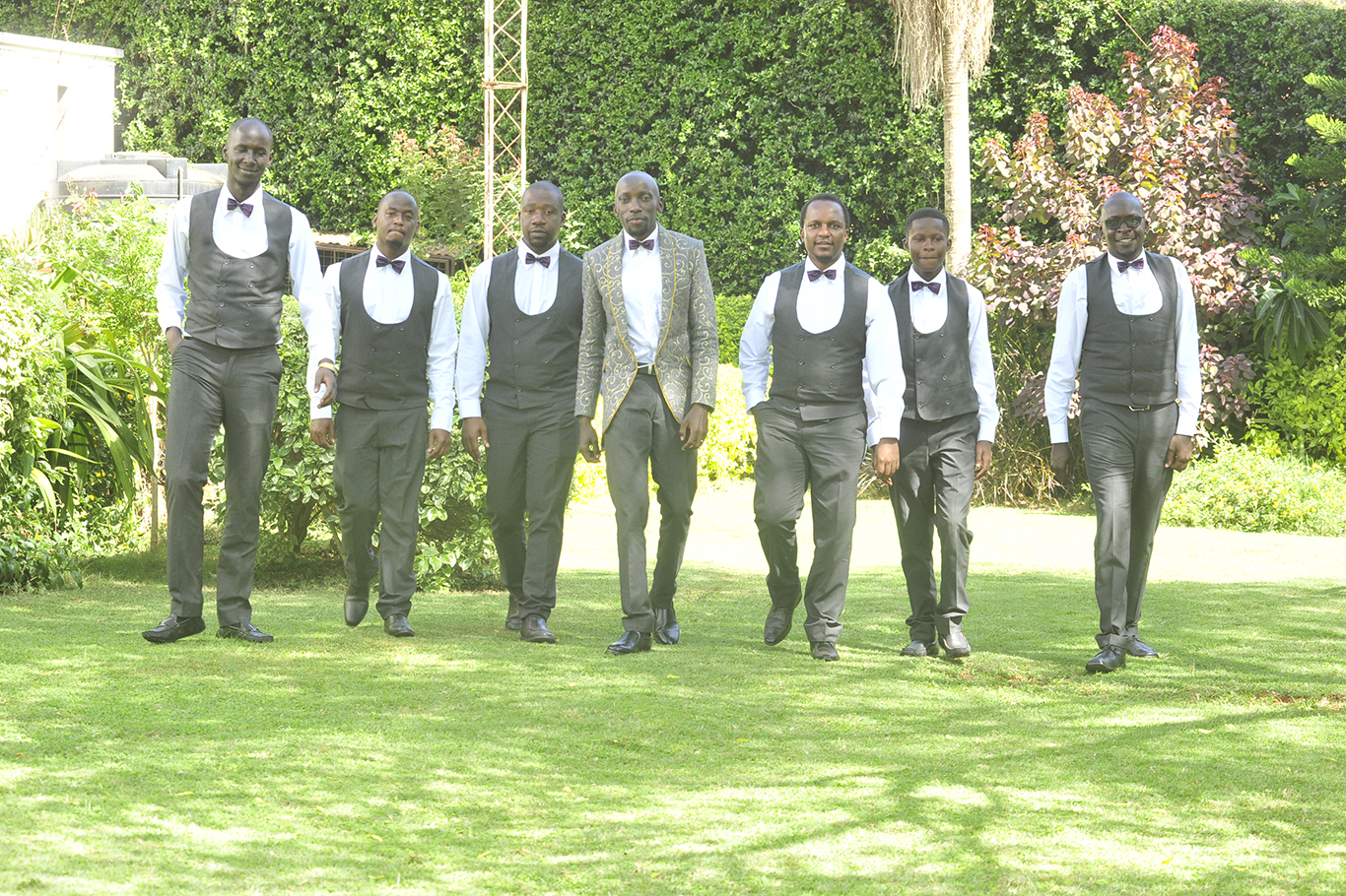 Groom blazer for wedding in Kenya