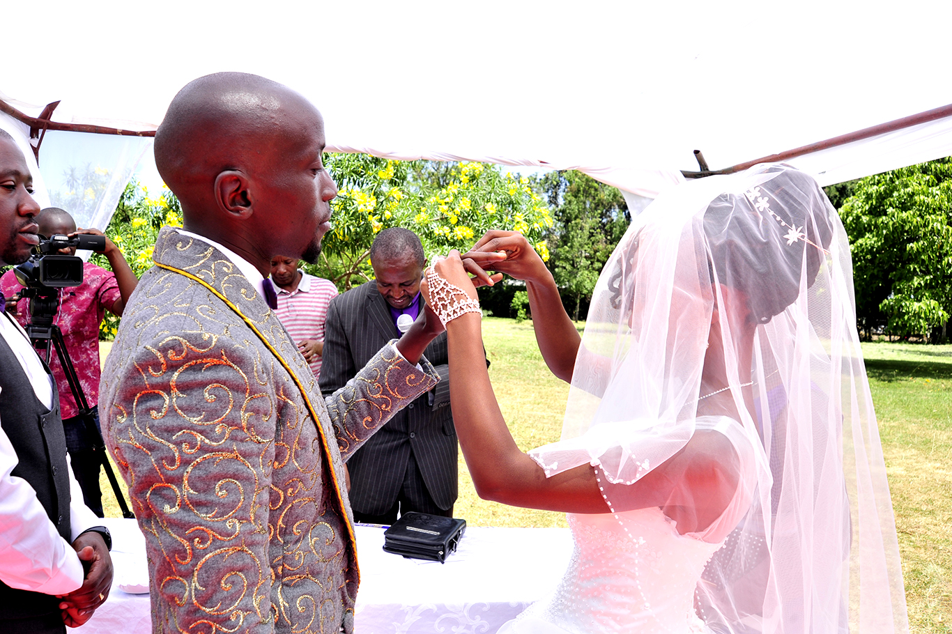 Unique wedding jackets for the groom in Kenya