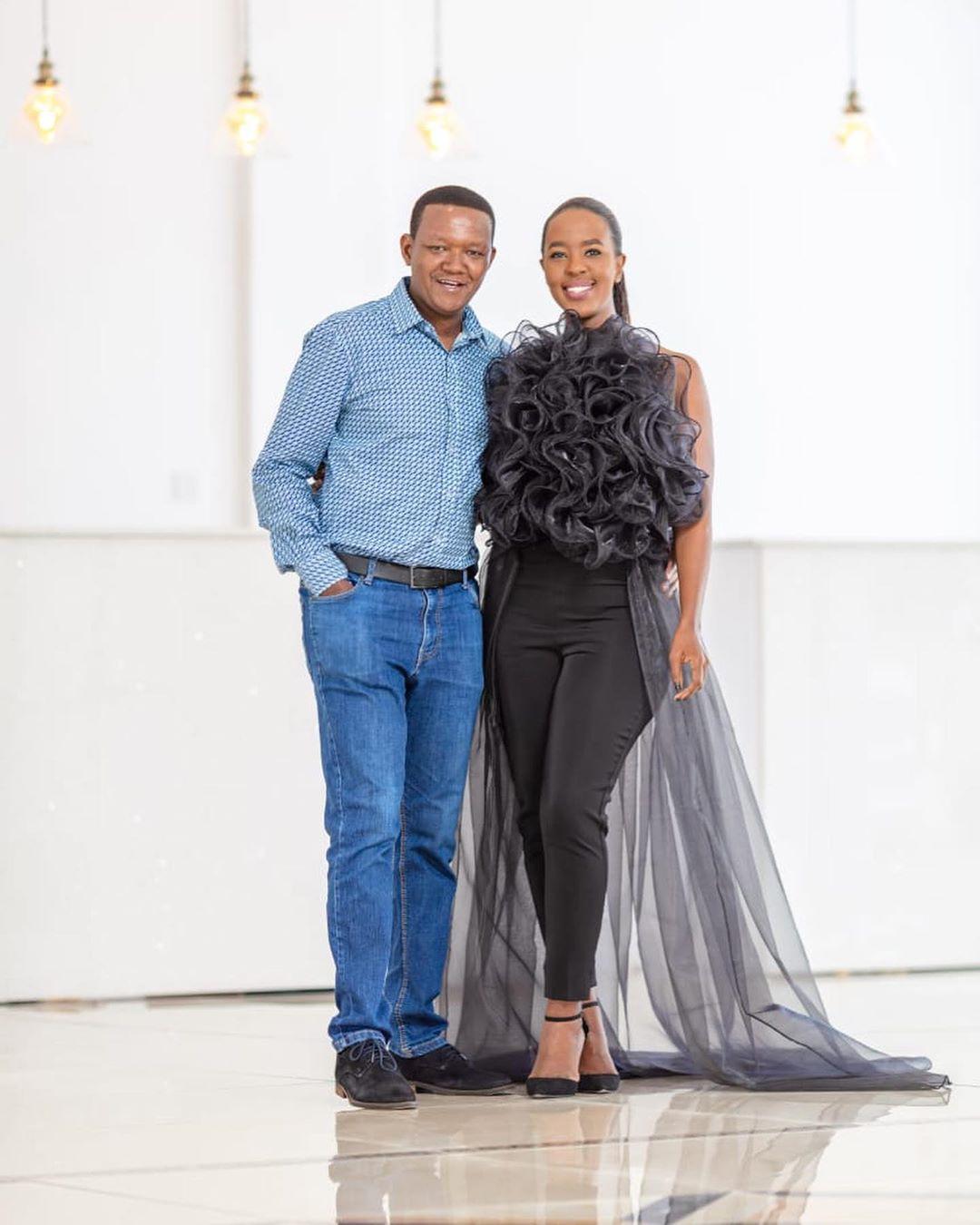power couple Kenya dress up