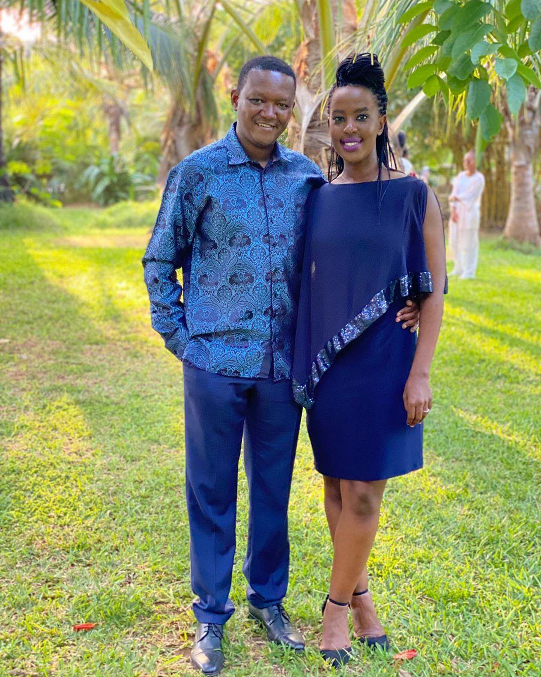 Kenyan power couple