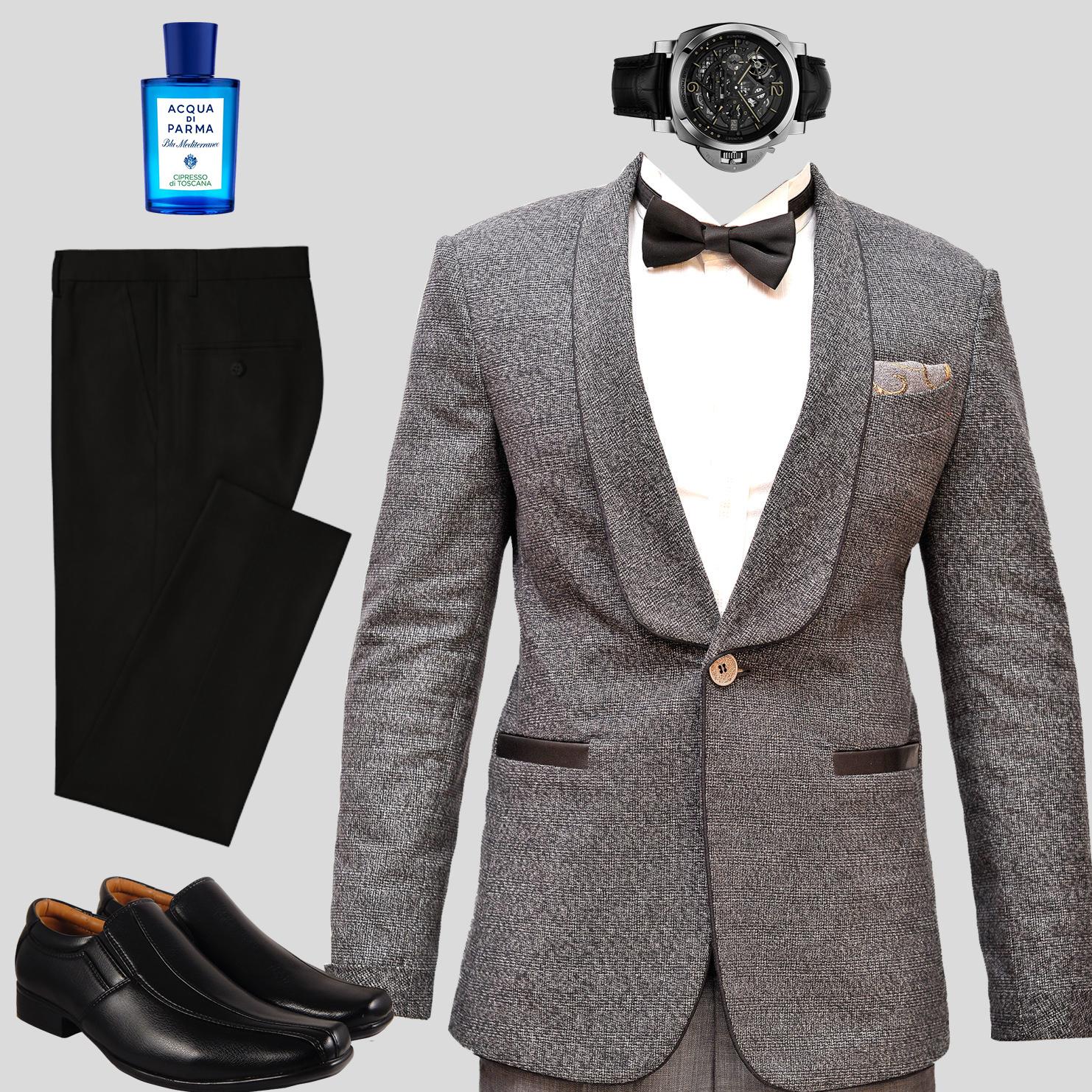 Important business meeting dinner jacket look Kenya