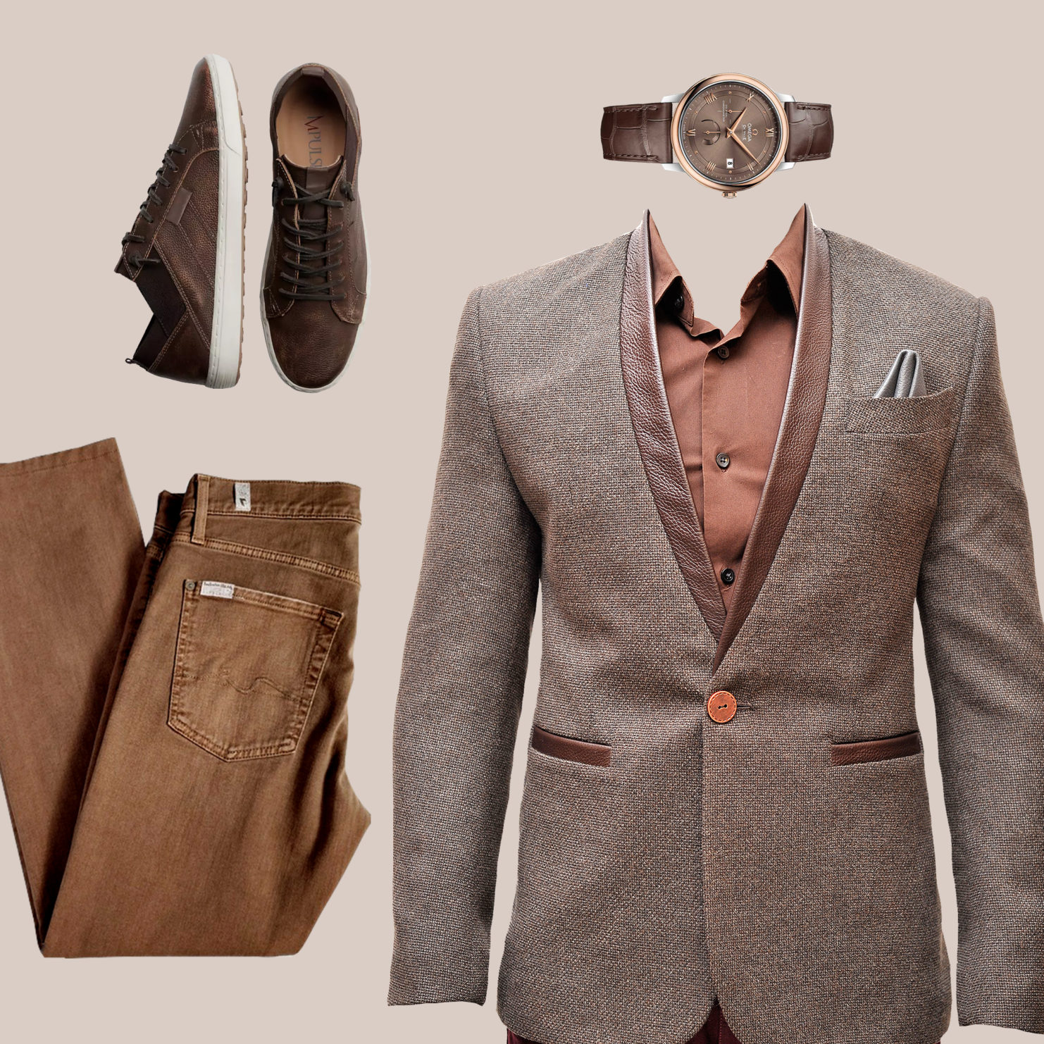 sports jacket smart casual birthday outfit
