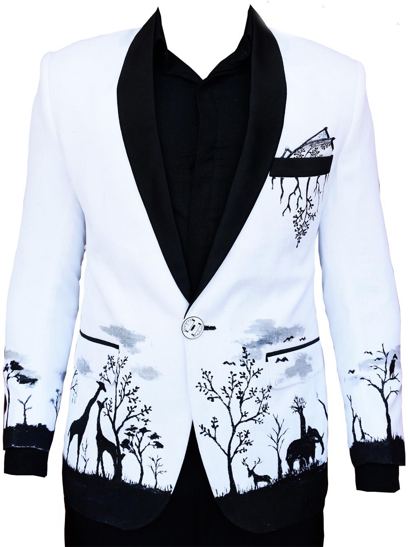 unique african tuxedo kenya