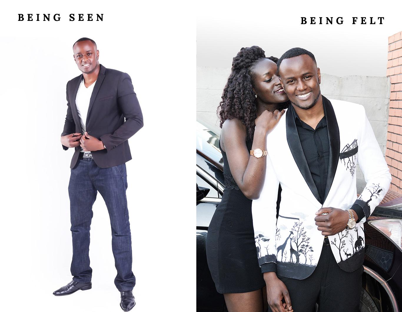 being seen vs. being felt King Sidney kenya