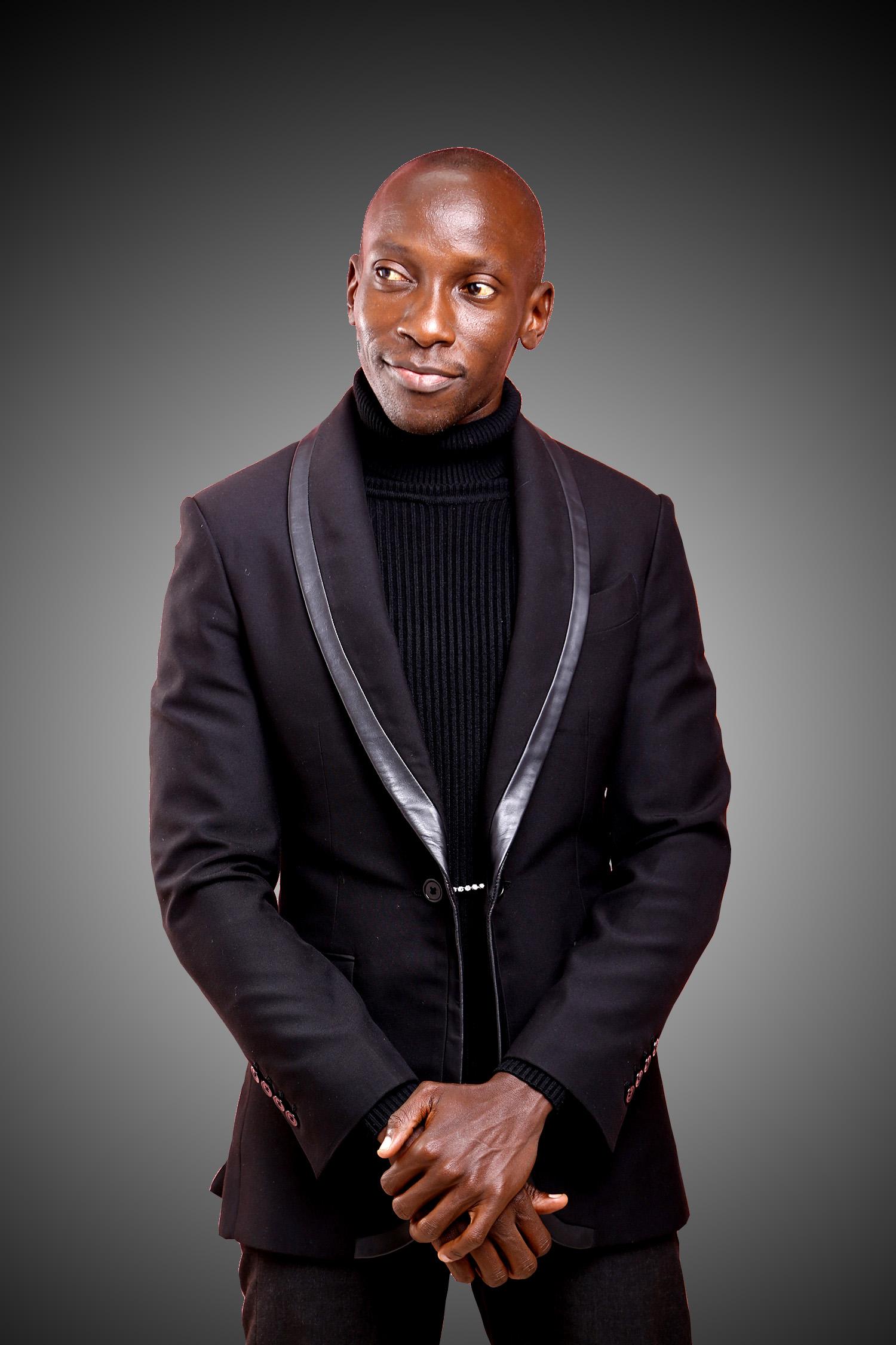 men's black funeral suit Nairobi Kenya