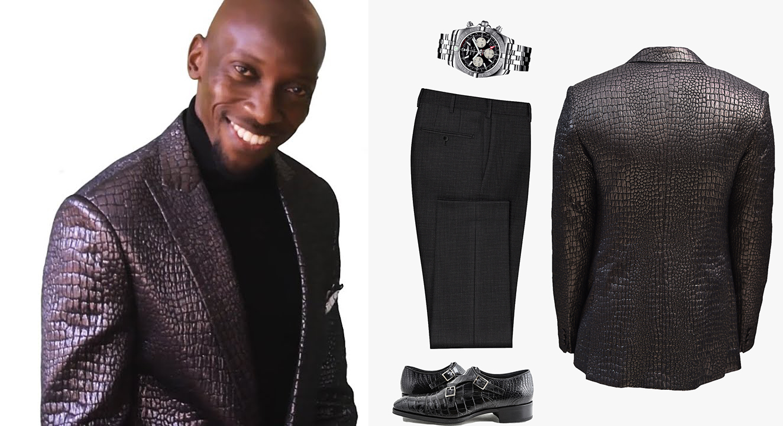 Unique high-quality fabric wedding suit Nairobi Kenya